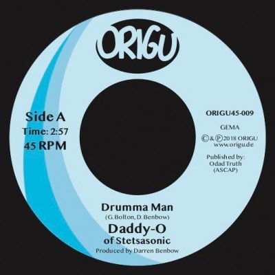 Daddy-O - Drumman Man / Played Out
