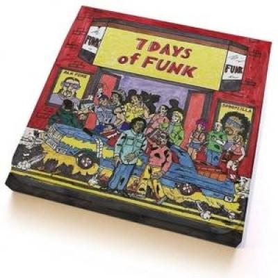 7 Days Of Funk (Dam-Funk & Snoopzilla) - 7 Days Of Funk 45 Box S