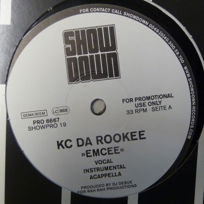 KC Da Rookee - Emcee / Rook Translation