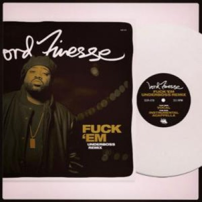 Lord Finesse - Fuck 'Em Underboss Remix White Vinyl Edition