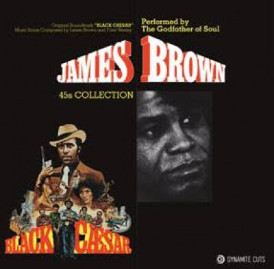 James Brown - Black Caesar 45s collection