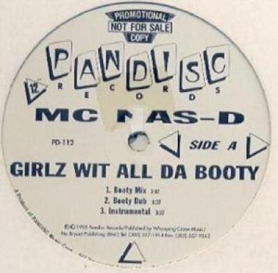 MC Nas-D - Girlz Wit All Da Booty