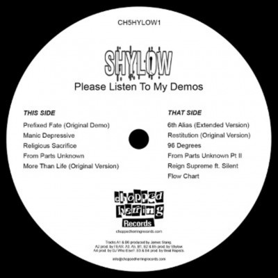 Shylow - Please Listen To My Demos
