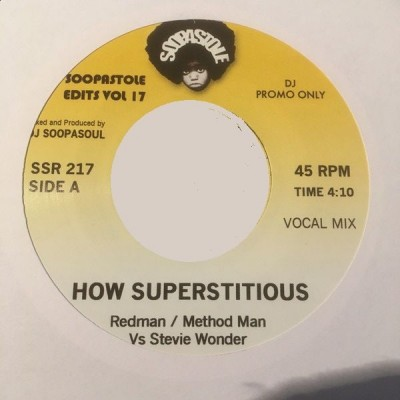 Redman / Method Man Vs Stevie Wonder - How Superstitious