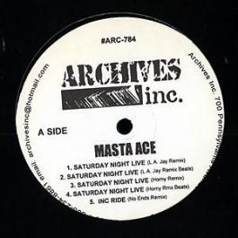 Masta Ace - Saturday Night Live (Remixes)