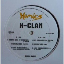 X-Clan - Heed The Word Of The Brother