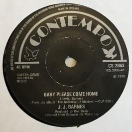 J. J. Barnes - Baby Please Come Home