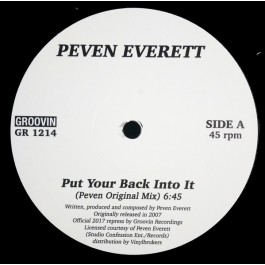 Peven Everett - Put Your Back Into It