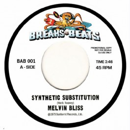 Melvin Bliss / Sweet Daddy Floyd - Synthetic Substitution / I Just Can't Help Myself