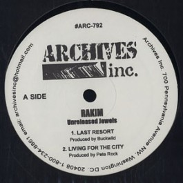 Rakim - Unreleased Jewels