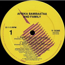 Afrika Bambaataa & Family - Shout It Out