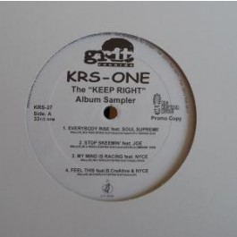 KRS-One - Keep Right Album Sampler