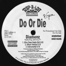 Do Or Die - Diamenz / Sex Appeal