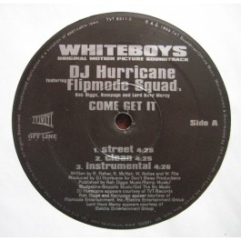 Hurricane - Come Get It / For The Thugs