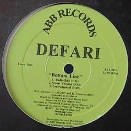 Defari - Bottom Line / People's Choice