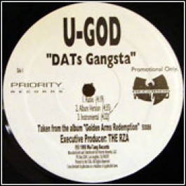U-God - DATs Gangsta / Shell Shock