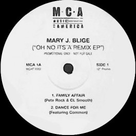 """Mary J. Blige - (""""Oh No It's A Remix EP"""")"""