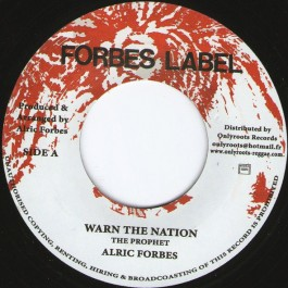 Alric Forbes - Warn The Nation