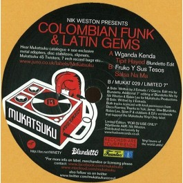 Nik Weston - Colombian Funk & Latin Gems