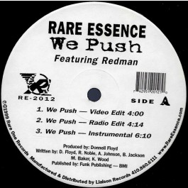 Rare Essence Featuring Redman - We Push