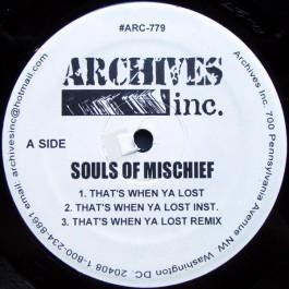 Souls Of Mischief - That's When Ya Lost