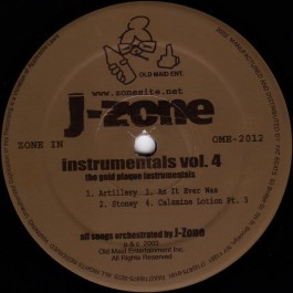 J-Zone - The Gold Plague Instrumentals (Instrumentals Vol.4)