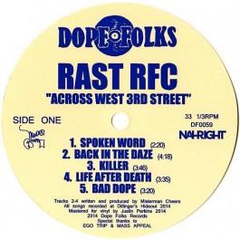 Rast RFC - Across West 3rd Street