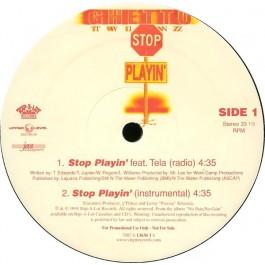 Ghetto Twiinz - Stop Playin' / No Sunshine