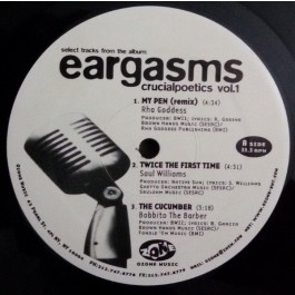 Various - Select Tracks From The Album: Eargasms Crucialpoetics Vol. 1
