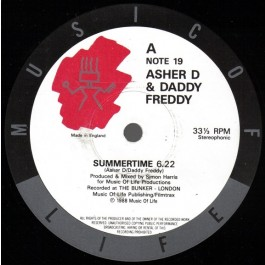Asher D & Daddy Freddy - Summertime