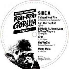 Various - The Rah Rah Gorilla Sampler # 1