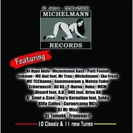 Various - 10 Jahre Michelmann Records - 1998-2008