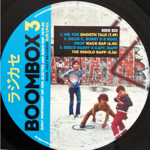 Various - Boombox 3 (Early Independent Hip Hop, Electro And