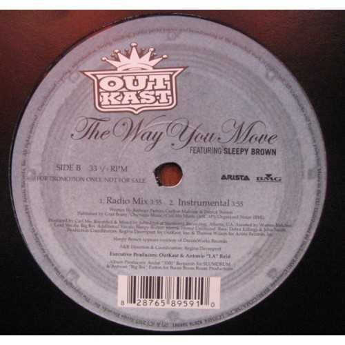 OutKast - The Way You Move Vinylism