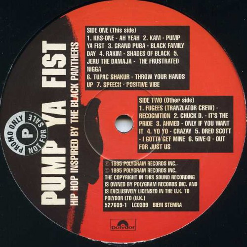 Pump ya fist hip hop inspired by the black panthers