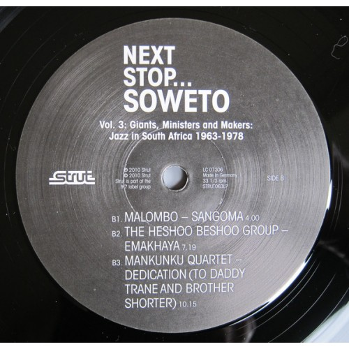 Various - Next Stop    Soweto Vol  3 (Giants, Ministers And