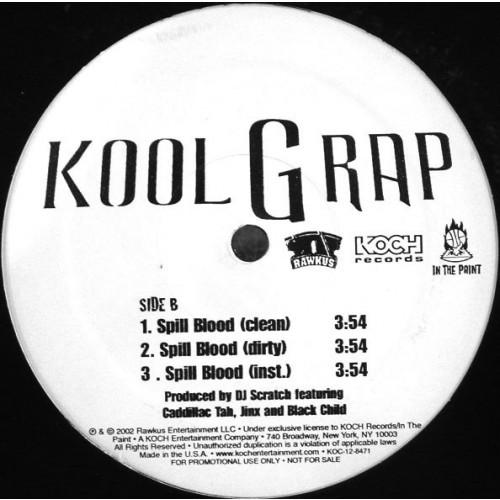 Kool G Rap - It's Nothin' / Spill Blood Vinylism