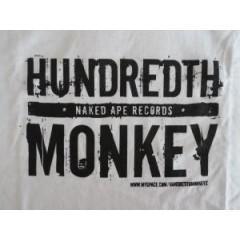 Hundredth Monkey - Logo Shirt (White)