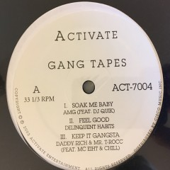 Various - Activate Gang Tapes