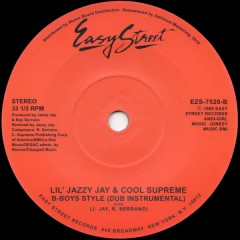 Lil' Jazzy Jay & Cool Supreme - B-Boys Style