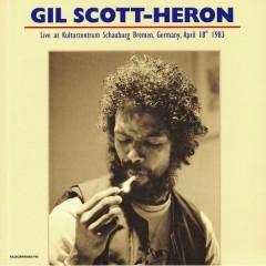 Gil Scott-Heron - Live At Kulturzentrum Schauburg Bremen Germany April 18th 1983