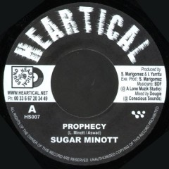 Sugar Minott / Original Uman - Prophecy / La Danse Du Serpent