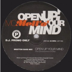 MC Mell'O' - Open Up Your Mind (The Consciousness Of One)