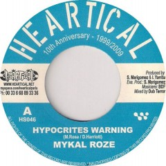 Mykal Roze / BDF & Dub Terror  - Hypocrites Warning / Dubbing Tonight
