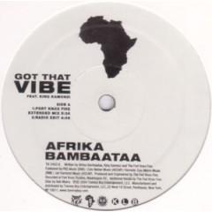 Afrika Bambaataa - Got That Vibe