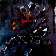 Paper Dollhouse - A Box Painted Black