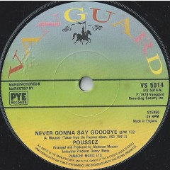Poussez! - Never Gonna Say Goodbye
