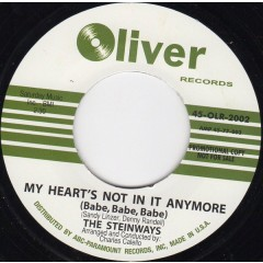 The Steinways - My Heart's Not In It Anymore (Babe, Babe, Babe) / You've Been Leadin' Me On