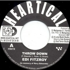 Edi Fitzroy / Roberto Sanchez - Throw Down / Slaving For A Reason