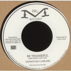 Donovan Carless - Be Thankful